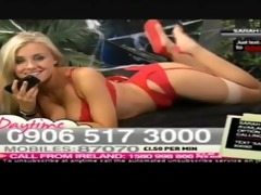 sarah matty lady in red babestation daytime 2011