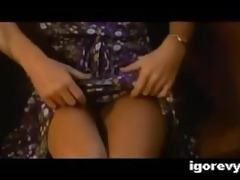 vintage bottomless woman teaser scene in educate