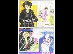 vintage evil raunchy femdom comic
