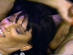 sexy vintage fuck action for this older babe
