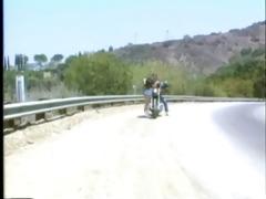 christy rides tom