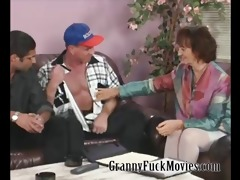granny with firm mambos fucking two