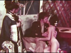 vintage geisha threesome
