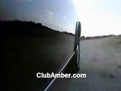 amber lynn fucks outdoors
