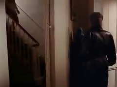 stocking masked intruder
