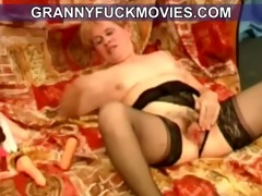masturbating dirty old granny
