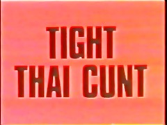 constricted thai cunt (danish vintage moresome)