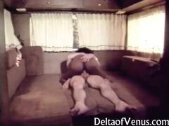 vintage interracial porn - open road