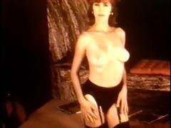 teach me, tiger - vintage stockings striptease