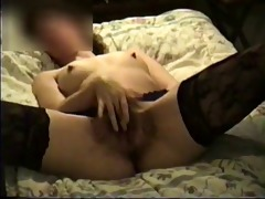 awesome hairy pussy masturbating