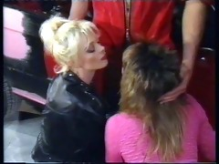 sandra nova and claudia erkner milking cocks